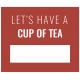 The Good Life- November 2019 Words & Tags- Label Cup Of Tea