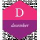 The Good Life: December 2019 Labels & Words Kit- label december