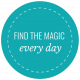 The Good Life: December 2019 Labels & Words Kit- label find the magic