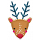 The Good Life: December 2019 Christmas Elements Kit- sticker reindeer