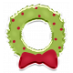 The Good Life: December 2019 Christmas Elements Kit- Sticker wreath