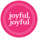 The Good Life: December 2019 Christmas Labels & Words Kit- label joyful joyful