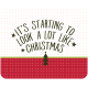 The Good Life: December 2019 Christmas Labels & Words Kit- tag look like christmas