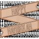 The Good Life: December 2019 Hanukkah Elements Kit- letterpress hanukkah banner