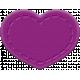 The Good Life- December 2019 Mini Kit- Rubber Heart Purple 2