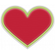 The Good Life- December 2019 Mini Kit- Rubber Heart Red