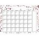 The Good Life: January 2020 Calendars Kit- 1 Calendar 5x7 blank
