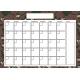 The Good Life: January 2020 Calendars Kit- 2 Calendar 5x7 blank