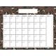 The Good Life: January 2020 Calendars Kit- 2 Calendar 8.5x11 blank