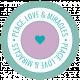 The Good Life- December 2019 Hanukkah Words & Labels- Label Peace Love Miracles