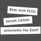 The Good Life- January 2020 Lables & Words- Word Strip Snow Falls