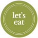 The Good Life- February 2020 Words & Labels- Label Let's Eat