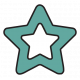 The Good Life- February 2020 Tags & Stickers- Sticker Star Teal