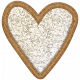 The Good Life: March 2020 Elements Kit- glitter heart 2