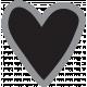 Templates Grab Bag Kit #30 Shapes- heart 1