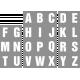 Alpha Template Kit #55- Alpha Template 55 Alpha