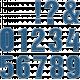 The Good Life- April 2020 Alphas- Alpha 56 Blue Polka Dots Numbers