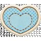 The Good Life- April 2020 Mini Kit- Wood Heart 2D