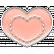 The Good Life- April 2020 Elements- Enamel Heart