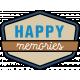 The Good Life- April 2020 Labels & Words- Happy Memories