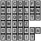 Alpha Template Kit #61- Alpha template 61