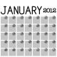 Layout Template 408- Calendar