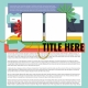 Layout Templates Kit #58- Layout Template 58C