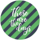 The Good Life- July 2020 Tags & Stickers- Print Circle 4