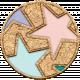 The Good Life: August 2020 Mini Kit- star circle