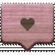 The Good Life- October 2020 Elements- wood heart