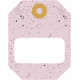 The Good Life- October 2020 Stickers & Tags Kit- tag 4 pink