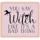 The Good Life- October 2020 Stickers & Tags Kit- witch 2