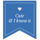 The Good Life- October 2020 Labels- Label Cute And I Know It