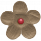 The Good Life: November 2020 Mini Kit- small flower brown