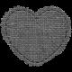 Templates Grab Bag #34 - Burlap Mat Heart Template