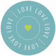 The Good Life- December 2020 Labels- Label Love Love Love Circle
