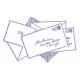 World Traveler #2 Tags & Stickers Kit - Vintage Mail