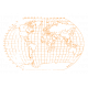 World Traveler #2 Tags & Stickers Kit - Vintage Globe 2