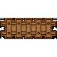World Traveler Bundle #2 - Neutral Elements - Neutral Wood Railroad Tracks