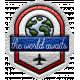 World Traveler Bundle #2- Elements- Label Leather The World Awaits