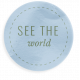World Traveler Bundle #2- Elements- Label Vellum See The World