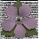 Good Life May 21_Flower Metal-purple