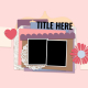 Layout Templates Kit #71- Template 71C