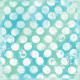 Good Life June 21_Painted paper-Dots white blue green