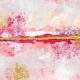 Good Life Aug 21_Mixed Media-White Pink Yellow
