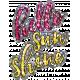 Good Life Aug 21_Word Art Shiny Sticker-Hello Sunshine