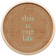 The Good Life: September 2021 Elements Kit- wood this is our life