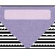 Winter Arabesque Tag- Triangle