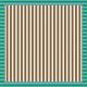 Paper 336- Stripes Green & Brown Wandering Road