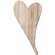 Wood 11- Thin Heart Here & Now Wood Kit